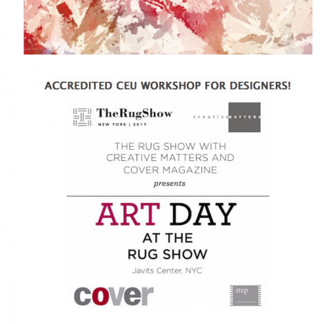 Art Day at The Rug Show NYC